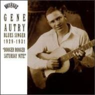 Blues Singer : 1929-1931 -Booger Rooger Saturday Nite