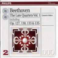 弦楽四重奏曲第12、13、16番、大フーガ イタリア四重奏団