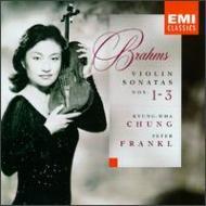 Violin Sonata, 1, 2, 3, : Kyung-wha Chung(Vn)Frankl(P)