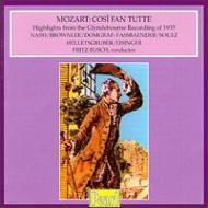 Cosi Fan Tutte(Hlts): Busch / Glyndebourne Festival.o