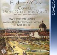ピアノ協奏曲全集Vol.1 パルンボ(P)、タイス&オーストリア室内管