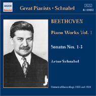 アルトゥール・シュナーベル:ベートーヴェン・ピアノ作品集1 シュナーベル