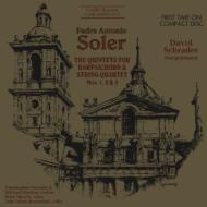 Quintet For Harpsichord & Strings.1-3: Schrader(Cemb)Verrette(Vn)Etc