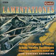Lamentationes: String Orchestraof St.gallen