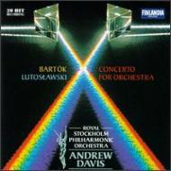 Concerto For Orchestra: A.davis / Stockholm.po