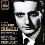 Piano Concerto.3 / 1 / : Lipatti, Sacher, Ansermet, Galliera