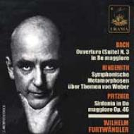Orch.suite.3: Furtwangler / Bpo +hindemith, Pfitznero