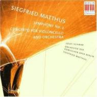 Sym.2, Cello Concerto: Matthus / Komische Oper Berlin.o