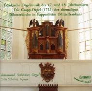 Fraenkische Orgelmusik: Schaecher(Org)schebitz(S)