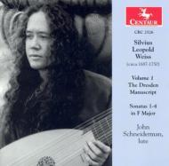 Dresden Manuscript Sonatas Vol.1: Schneiderman(Lute)