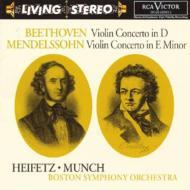 Violin Concerto: Heifetz(Vn), Munch / Bso