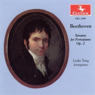 Piano Sonata.1-3: Leslie Tung(P)