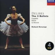 バレエ『コッペリア』、『シルヴィア』、『泉』 ボニング&ナショナル・フィル、ニュー・フィルハーモニア管、コヴェント・ガーデン王立歌劇場管(4CD)