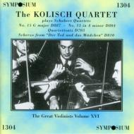 String Quartet.12, 13, 15Kolisch Q (Great Violinists Vol.15)