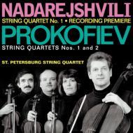 String Quartets.1, 2: St.petersburg.sq +ナダレジュヴィリ