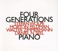 Four Generations-wolpe, Feldman, W.zimmermann, Seel: D.n.seel(P)