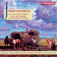 ジョン・フィールド:ピアノ協奏曲第3・5番 オルールク(p)