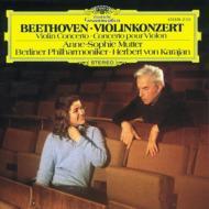 ヴァイオリン協奏曲 ムター(vn)、カラヤン&ベルリン・フィル