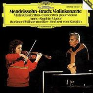 メンデルスゾーン:ヴァイオリン協奏曲、ブルッフ:ヴァイオリン協奏曲第1番 ムター、カラヤン&BPO