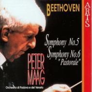 交響曲第5番「運命」,6番「田園」 マーク&パトヴァ・ヴェネト管