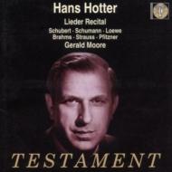 Hotter Lied Recital