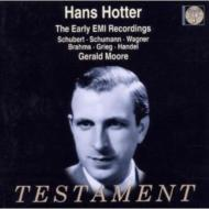 Hotter Sings Schubert、Schumann、Wagner、Etc('40-'50th)
