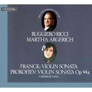 Violin Sonatas: Ricci / Argerich