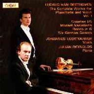 Comp.vn.sonatas Vol.1