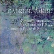 Piano Quintet.1, 2: Q.faure Di Roma