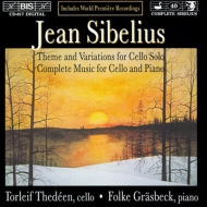 Works For Cello & Piano: Thedeen(Vc)Grasbeck(P)