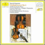 ヴァイオリン協奏曲第1番 アッカルド(vn)、デュトワ / ロンドン・フィル
