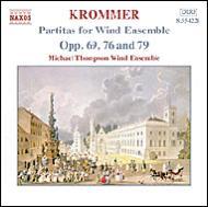 管楽合奏のためのパルティータ集第3集 マイケル・トンプソン管楽アンサンブル
