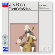 無伴奏チェロ組曲全曲 ジャンドロン(2CD)