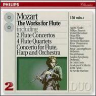 フルート協奏曲集、フルート四重奏曲集 ニコレ、バルワーザー、ベネット