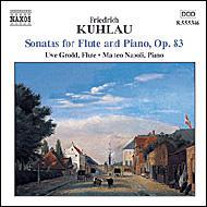 フルートとピアノのためのソナタト長調/ハ長調/ト短調 グロット/ナポリ