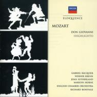 Don Giovanni(Hlts): Baquier, Sutherland