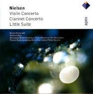 Violin Concerto, Clarinet Concerto: Hannisdal(Vn)kojo(Cl)milkkelsen, Etc