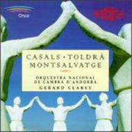 Catalan String Orch Works: G.claret / Cambra D'andorra National O
