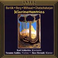 Clarinet Trios: Schlechta(Cl)
