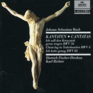 Cantata.4, 56, 82: K.richter / Munich Bach O & Cho F-dieskau