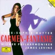 ヴァイオリン作品集/Carmen-fantasie: Mutter(Vn) Levine / Vpo