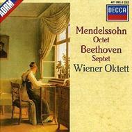 メンデルスゾーン:八重奏曲、ベートーヴェン:七重奏曲 ウィーン八重奏団