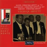 String Quartet.82 / 3 / .: Vegh.qsalzburg Live 1961