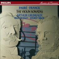 Violin Sonatas: Grumiaux / Crossley