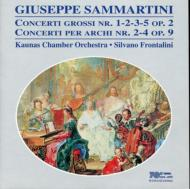 Concertos: Frontalini / Kaunas Co