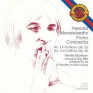 Piano Concerto, 1, 2, : Perahia(P)Marriner / Asmf +piano Works