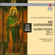 Comp.cantatas Vol.4: Harnoncourt, Leonhardt