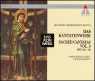 Comp.cantatas Vol.9: Harnoncourt, Leonhardt