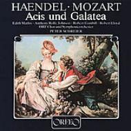 (Mozart)acis Und Galatea: Schreier / Orf So E.mathis Rolfe Johnson