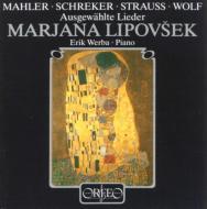 Lipovsek: Mahler, Schreker, R.strauss, Wolf: Lieder